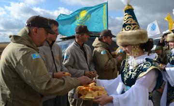 My Motherland ethnographic motor expedition arrives in N Kazakhstan (PHOTO)