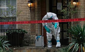 西非埃博拉疫情累计病例数超2万 死亡病例7842例