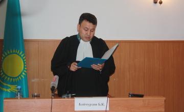 К 22 и 24 годам тюрьмы приговорили участников убийства замначальника финполиции СКО