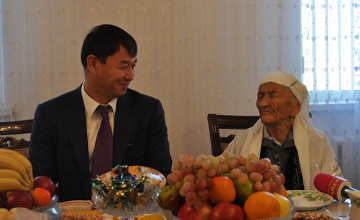 Shymkent woman celebrates 105th anniversary