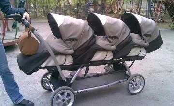 Karaganda pair welcomes triplets