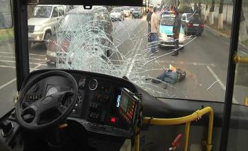 Жаяу жүргіншіні қағып кеткен автобус жүргізушісі қамауға алынды