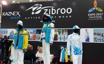 Казахстанская горнолыжная одежда представлена на выставке в Москве