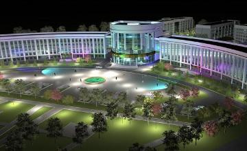 哈萨克技术和商业大学举行新生入学仪式(组图)
