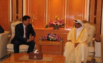 Казахстанская делегация встретилась в ОАЭ с правителем эмирата Аджман