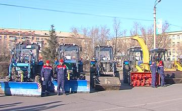 СҚО әкімі Петропавлдың жол және коммуналдық қызметтерінің автопаркін тексерді