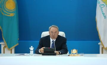 纳扎尔巴耶夫总统发表《光明大道—通往未来之路》国情咨文