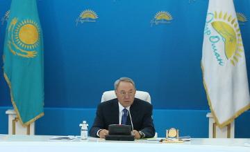 Послание Президента РК Н. Назарбаева народу Казахстана «Нұрлы жол - Путь в будущее»