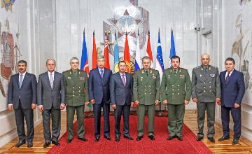 Совет министров обороны государств-участниц СНГ обсудил в Москве вопросы многостороннего взаимодействия