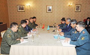 Қазақстан мен Қырғызстан Қорғаныс министрлері әскери саладағы ынтымақтастық мәселелерін талқылады