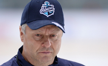 KHL: HC Admiral sack head coach Gregor