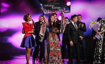 Жанар Дугалова победила на конкурсе «Turkvizyon-2014»