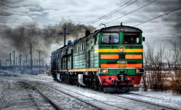 Казахстанский грузовой тепловоз отправлен на экспорт в Ашхабад
