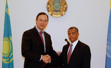 Казахстан установил дипломатические отношения с Сан-Томе и Принсипи и Сьерра-Леоне