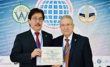 阿尔法拉比国立大学校长穆坦诺夫入选世界艺术与科学学会成员