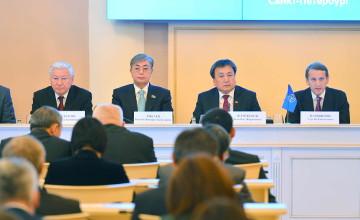 К.Токаев и К.Жакупов приняли участие в заседании Совета МПА СНГ в Санкт-Петербурге