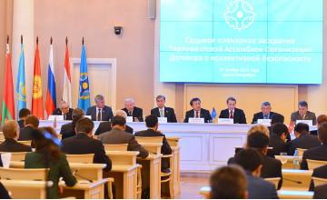 Казахстанские парламентарии приняли участие в седьмом пленарном заседании ПА ОДКБ