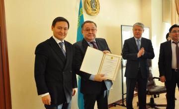 Казахстанские фармпроизводители получили сертификаты соответствия стандартам GMP и CDP