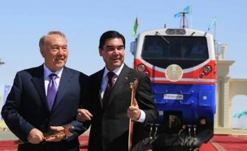 Н.Назарбаев: Запуск железной дороги «Казахстан-Туркменистан-Иран» - знаковое событие для Евразийского региона