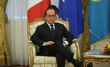 Қазақстан ірі саяси оқиғаларға ықпал етуге қауқарлы мемлекет - Франсуа Олланд