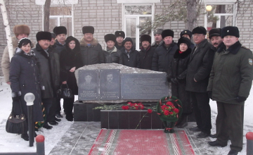 В Семее установили мемориальную доску погибшим пожарным