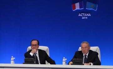 Н.Назарбаев: Казахстан выделит специальную льготу для студентов Франции