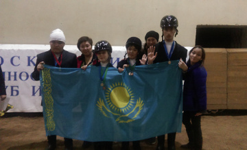 Спортсмены-инвалиды из Усть-Каменогорска показали класс на конных состязаниях в Москве