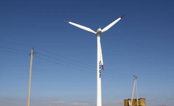 Кордайская ветроэлектростанция расширила свою мощность до 9 МВт в год