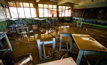 Су тасқынына байланысты Малайзияның барлық мектептерінде сабақ тоқтатылды