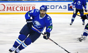 Nigel Dawes of Barys voted to 2015 KHL All-Star team