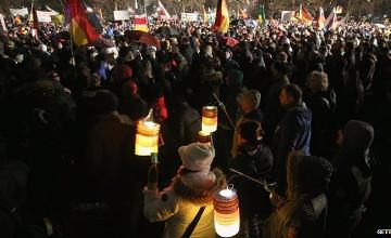 Germany Pegida protests: 'Islamisation' rallies denounced