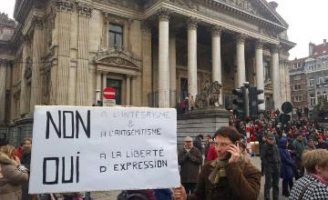 Более 15 тыс человек стали участниками Марша единства в Брюсселе (ФОТО)