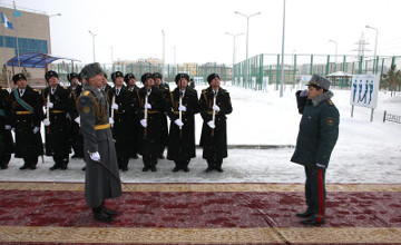 «Жеңіске тағзым» акция-марафоны Астанада өз мәресіне жетті (ФОТО)