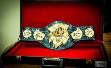 В Астану из Сеула доставлен чемпионский пояс АРВ