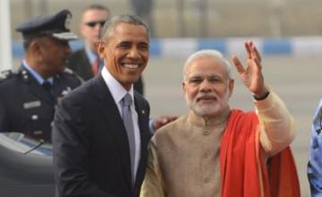 Обама алғаш рет Үндістанның Республика күні мерекесіне қатысты
