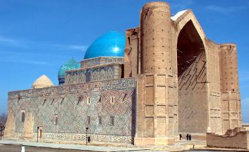 Қазақ жеріндегі тарихи ескерткіштер: Қожа Ахмет Яссауи кесенесі
