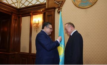 Орденом «Достык» II степени награжден ректор Дипломатической академии МИД РФ