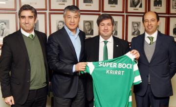 Футбольные клубы «Кайрат» и «Спортинг» (Лиссабон) заключили договор о партнерстве