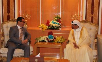 Правитель эмирата Аджмана (ОАЭ) выразил заинтересованность в развитии связей с Казахстаном