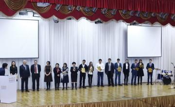 Гранты на обучение в КазГЮУ получили победители конкурса, посвященного Году АНК
