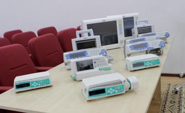 Кызылординский перинатальный центр получил медоборудование стоимостью 30 млн тенге