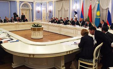 На заседании Евразийского межправсовета обсуждены вопросы станкостроения и маркировки товаров в ЕАЭС