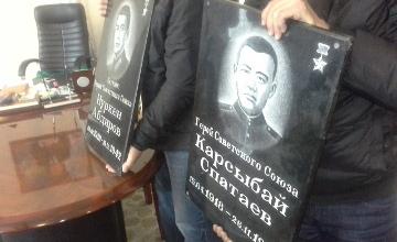 ОҚО-ның делегациясы Ресейде Сталинград шайқасына қатысқан қазақстандықтар туралы бағдарлама түсіреді