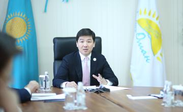 Б.Байбек избран председателем Алматинского филиала партии «Нур Отан»