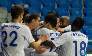 FC Astana defeat FC Kairat in 2015 Super Cup