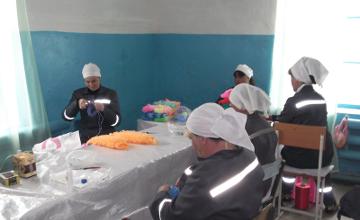 Петропавлдағы әйелдер колониясында қосымша жұмыс орындары ашылды  (ФОТО)