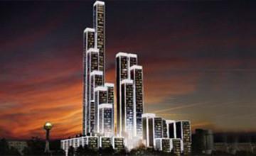 Казахстанский завод будет поставлять продукцию для строительства комплекса «Абу-Даби Плаза» в Астане