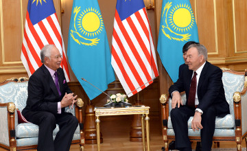 President of Kazakhstan and Prime Minister of Malaysia discussed issues of bilateral cooperation