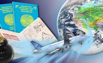 Казахстан к лету планирует ввести безвизовый режим с 26 странами