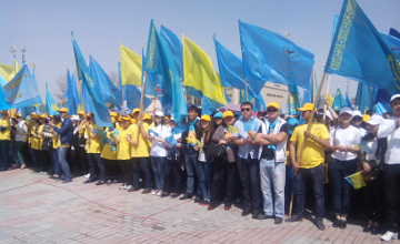 В форуме победителей в Шымкенте участие приняли около 10 тыс. человек (ФОТО)
